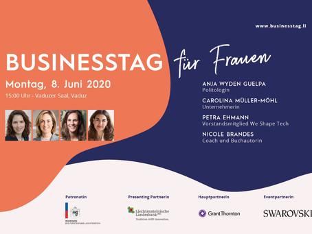 BUSINESSTAG für Frauen, 8. Juni 2020