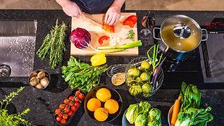 Ess-cort, Menü, frisch zubereitet, Regionale Zutaten