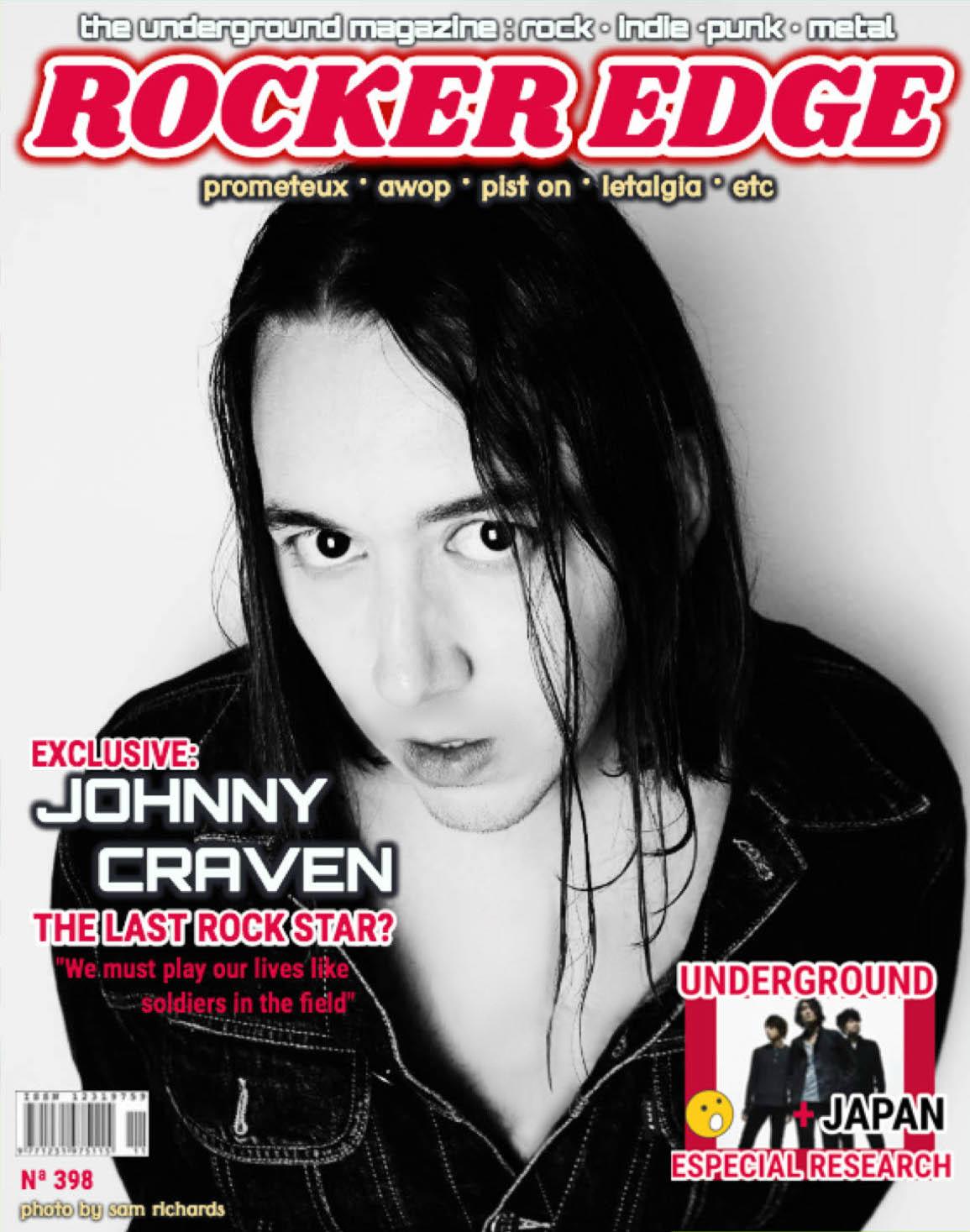 Johnny Craven @ The Rocker Edge