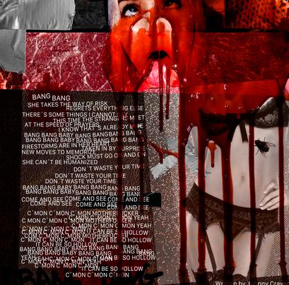 JOHNNY CRAVEN - BLEED ALBUM BOOKLET PAGE 05