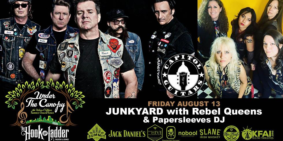 Junkyard w/ Rebel Queens & Paper Sleeves DJ