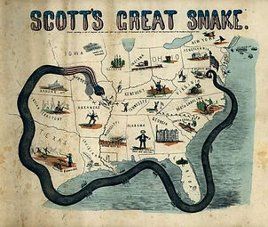 Winfield-Scott-cartoon-map-Anaconda-Plan
