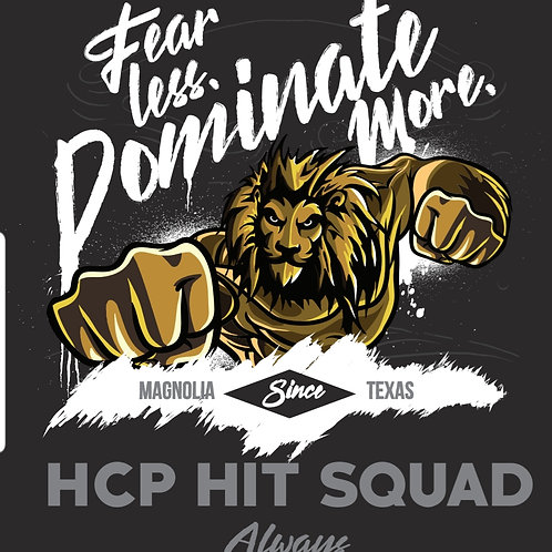 HCP HIT SQUAD (100% proceeds go to Warrior Medical & Fitness)