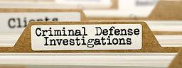 Criminal Defense Investigations