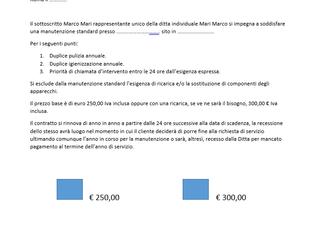 CONTRATTO DI MANUTENZIONE CONDIZIONAMENTO... (PERCHE' CONVIENE)