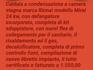 OFFERTE DI PRIMAVERA... (CALDAIE A CONDENSAZIONE)...