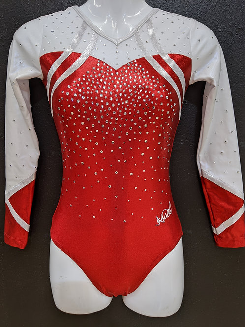 KINGBOROUGH GIRLS COMPETITION LEOTARD
