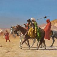 Riders Crossing the Desert