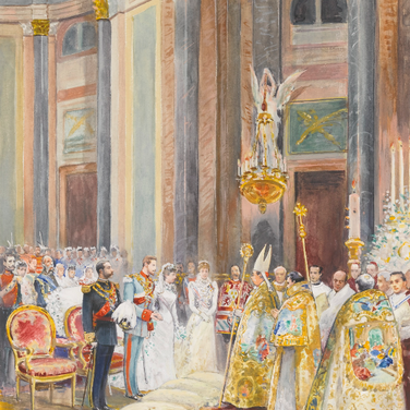 Wedding Paz of Spain and Ludwig Ferdinand of Bavaria