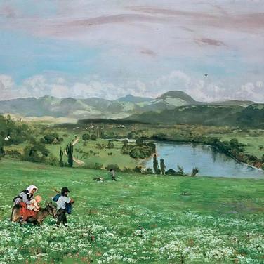 The Rhine Near Sackingen