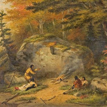 Autumn in West Canada, Chippewa Indians