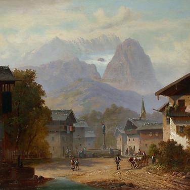 Ansicht von Garmisch