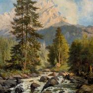 Die Roggalspitze im Lechquellengebirge