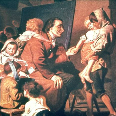 Pestalozzi with the Orphans in Stans