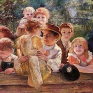 Gluckliche Kinder