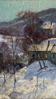 43. Similar to Winter Sunshine by Gardner Symons (Shimmering Tree Shadows by Gardner Symons)