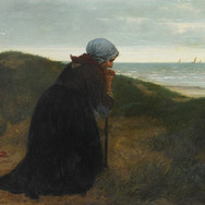 Fisherman's Wife Praying for a Happy Return