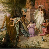 Pharaoh's Daughter Finds Moses