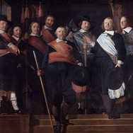 Officers and Standard-Bearers of the Old Civic Guard