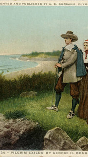 38. Pilgrim Exiles by George Henry Boughton