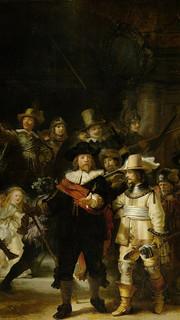 34. The Night Watch by Rembrandt Van Rijn