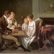 A Family Game of Checkers