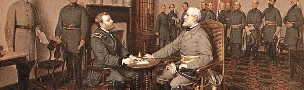 Appomattox_Surrender_by_Louis_Guillaume_