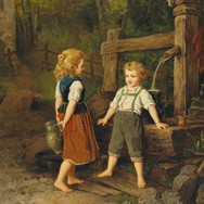 Children at the Well