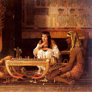 Egyptia Chess Players