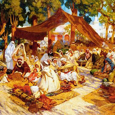 North African Encampment