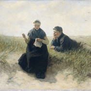Boy and Girl at the Dunes