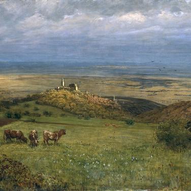 Blick auf Kronberg im Taunus