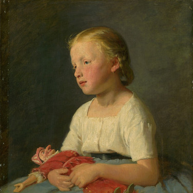 Little Girl with a Doll