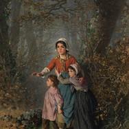 Children Gathering Firewood