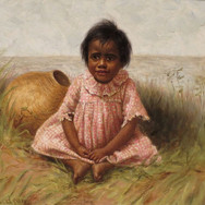 Child with Gourd Calabash