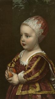 5. Baby Stuart by Sir Anthony Van Dyck