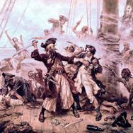 Capture of the Pirate, Blackbeard, 1781