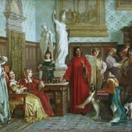 Galeazzo Maria Sforza Visiting Lorenzo de'Medici