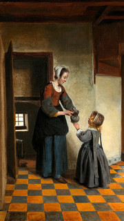29. The Buttery by Pieter de Hooch