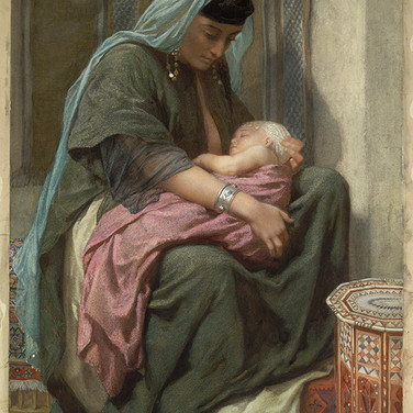 Copt Mother and Child