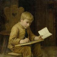 Writing Boy