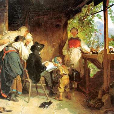 Der Maler auf der Studienreise