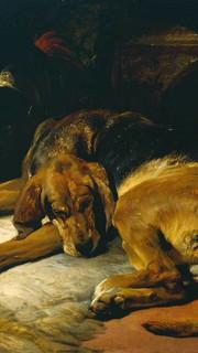 9. Sleeping Bloodhound by Sir Edwin Landseer
