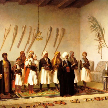 Prayer in the House of an Arnaut Chief