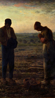 28. The Angelus by Jean Francois Millet