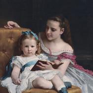Portrait of Eva and Frances Johnston