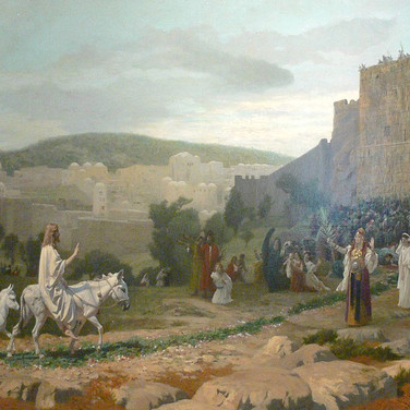 Entry of the Christ in Jerusalem