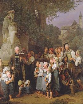 Waldmüller_-_Die_Verehrung_des_heiligen