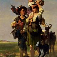 Kinder mit Geissen