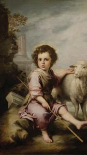 18. Divine Shepherd by Murillo